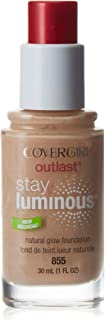 CoverGirl Outlast Stay Luminous Foundation - 855 Soft Honey, 1 oz