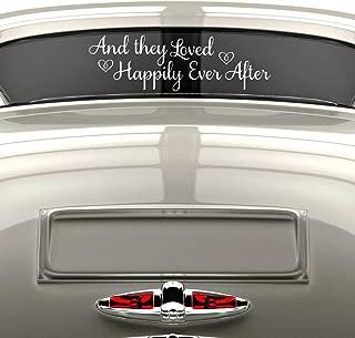 decorating a car after a wedding