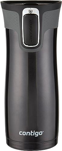 Contigo AUTOSEAL West Loop Stainless Steel Travel Mug, 16 oz, Black product image