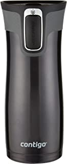 Contigo AUTOSEAL West Loop Stainless Steel Travel Mug , 16 oz., Black