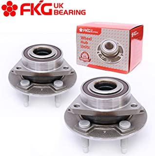 FKG 513288 Front or Rear Wheel Bearing Hub Assembly for 13-16 Cadillac XTS Chevy Malibu, 10-16 Buick Lacrosse GMC Terrain Chevy Equinox, 11-16 Buick Regal, 14-17 Chevy Impala, 5 Lugs Set of 2