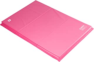 We Sell Mats 4 ft x 6 ft Gymnastics Mat, Folding Tumbling Mat, Portable with Hook & Loop Fasteners