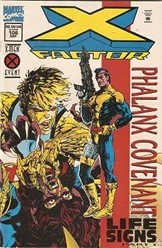 Comic X-Factor #106 (Phalanx Covenant: Life Signs Part 1) September 1994 Book