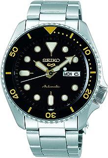 Seiko 5 FACELIFT, 10 Bar water resistant, Calendar, Black dial Men's watch SRPD57K1