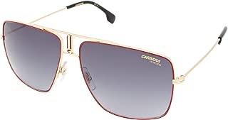 Carrera Unisex-Adult Carrera 1006/s Aviator Sunglasses, RED GOLD, 60 mm