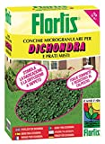 Flortis 1110213 Concime Microgranulare per Dhondra, 1500 g, 9x18x24 cm