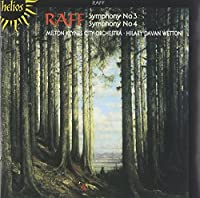 Raff: Symphonies Nos. 3 & 4 by The Milton Keynes City Orchestra (1999-08-02)