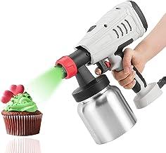 HRTX Pistolet de pulvérisation de Chocolat Haute Puissance 800 W Art Artisanat Décoration Pâtisserie Gâteau Décor Cuisson ...