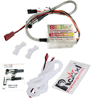 RCEXL Automatic Single Ignition CDI for NGK ME8 1/4-32 120 Degree + Hall Sensor