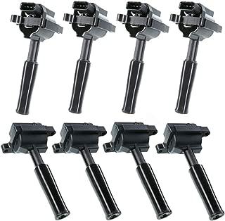 Set of 8 Ignition Coils Pack for Jaguar VandenPlas XJ8 XJR 1999-2003 XK8 1999-2002 XKR 2000-2002 V8 4.0L