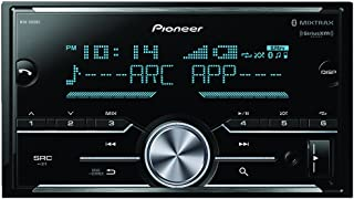 Pioneer MVH-S600BS Double Din Digital Media Receiver with Enhanced Audio Functions, Improved Pioneer ARC App Compatibility, MIXTRAX, Built in Bluetooth, and SiriusXM Ready