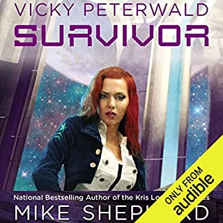 Survivor     Vicky Peterwald, Book 2              By:                                                                                                                                 Mike Shepherd                               Narrated by:                                                                                                                                 Dina Pearlman                      Length: 10 hrs and 1 min     211 ratings     Overall 4.4