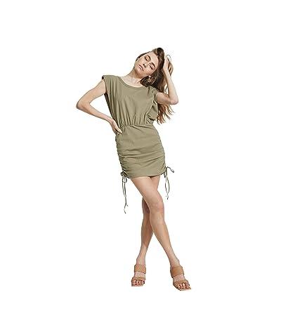 Bardot Toni Shoulder Pad Mini Dress
