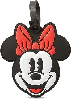 Minnie Mouse Head Travel Accessory Luggage ID Tag