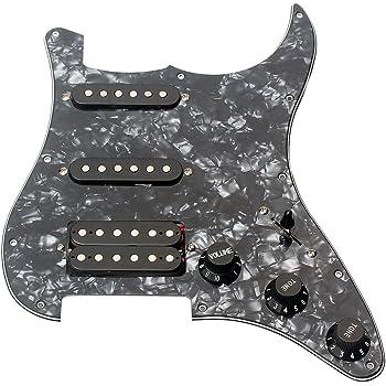 Ammoon - Golpeador de 3 capas cargado para guitarra eléctrica ...