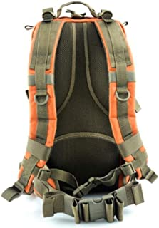 ACSH Tactical Backpack, Multi-Function Outdoor Camouflage Casual Hiking Camping Backpack, Black (Color : Orange)