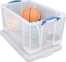 Really Useful Box Przezroczyste pudełko do przechowywania z tworzywa sztucznego o pojemności 84 l.