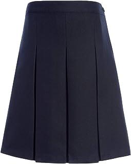Tommy Hilfiger Girls Girls Solid Box Pleat Skirt Skirt