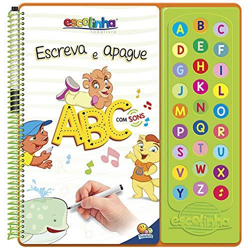Escolinha Escute e Aprenda! Escreva e Apague - ABC com Sons