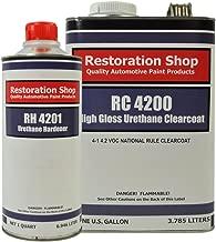 Restoration Shop 4.2 VOC High Gloss Urethane Clear Gallon Kit with Hardener