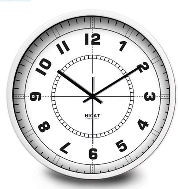 tienda en linea YNMB KS Salón Dormitorio Decoración Hogar Hogar Hogar Reloj electrónico Simple Personalidad Creativa Reloj de Parojo Digital blancoo, Talla   M  venderse como panqueques