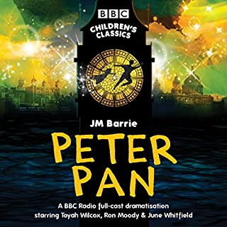 Peter Pan (BBC Children's Classics) audiobook cover art
