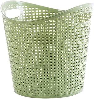 Ménage plastique creux de vêtements sale panier, salle de bains Grand panier de buanderie, vêtements de rangement pour vêt...