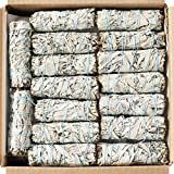 20 White Sage Smudge Sticks ~ Sustainably Grown Sage Bundles for Smudging, Smudge Kit, Ceremony, Spiritual Use, Home & Office Cleansing or Smoke Cleanse (20 Pack)