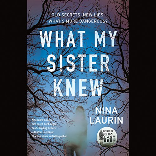 What My Sister Knew audiobook cover art