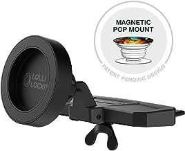 Encased LolliLockit CD Car Mount for Pop Phone Holder Grip, Magnetic Socket Holder (Patent Pending)