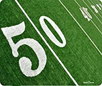 50ヤードラインフットボールオンフィールド