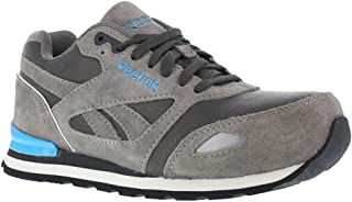 1efd9525ee0 RB977 Reebok Women s Retro Jogger Safety Shoes - Grey Blue - 11.5 - W