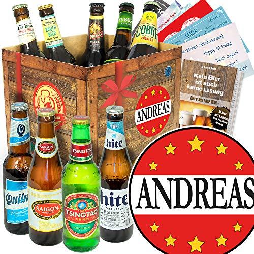 Andreas/Bierpaket mit Bieren der Welt