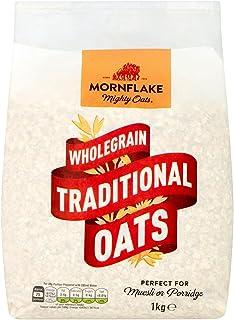 Mornflake traditionell havre 1 kg, valet för en hälsosam livsstil   Glöm inte: spannmål havregröt cornflakes chokladkuddar...