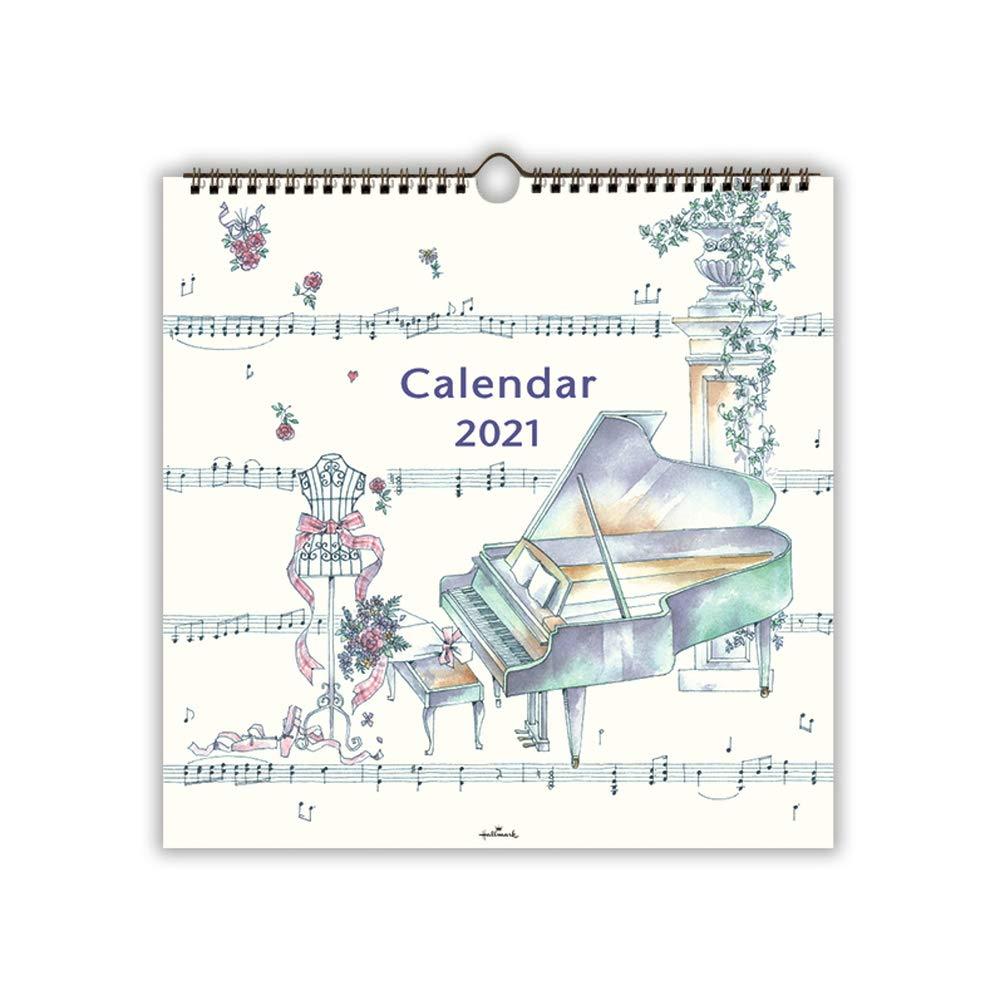 Amazon.co.jp: 日本ホールマーク 2021年 カレンダー 壁掛け 大 音楽の ...