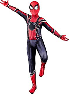 Rojily Halloween Zentai Suit for Kids Unisex Cosplay Superhero 3D Lycra Full Coverage Bodysuit