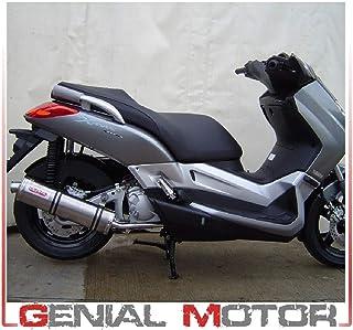 GPR SCOM.111.4RT Yamaha X-City 125 I.E. 2007/14 Gehomologeerd instapper uitlaatsysteem