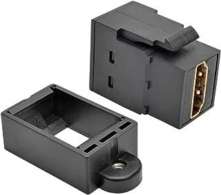 TRIPP LITE Black HDMI All-in-One Keystone/Panel Mount Coupler (P164-000-KP-BK)