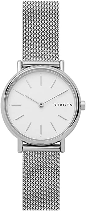 SKAGEN Women's SKW2692 Year-Round Analog-Digital Quartz Silver Band Watch