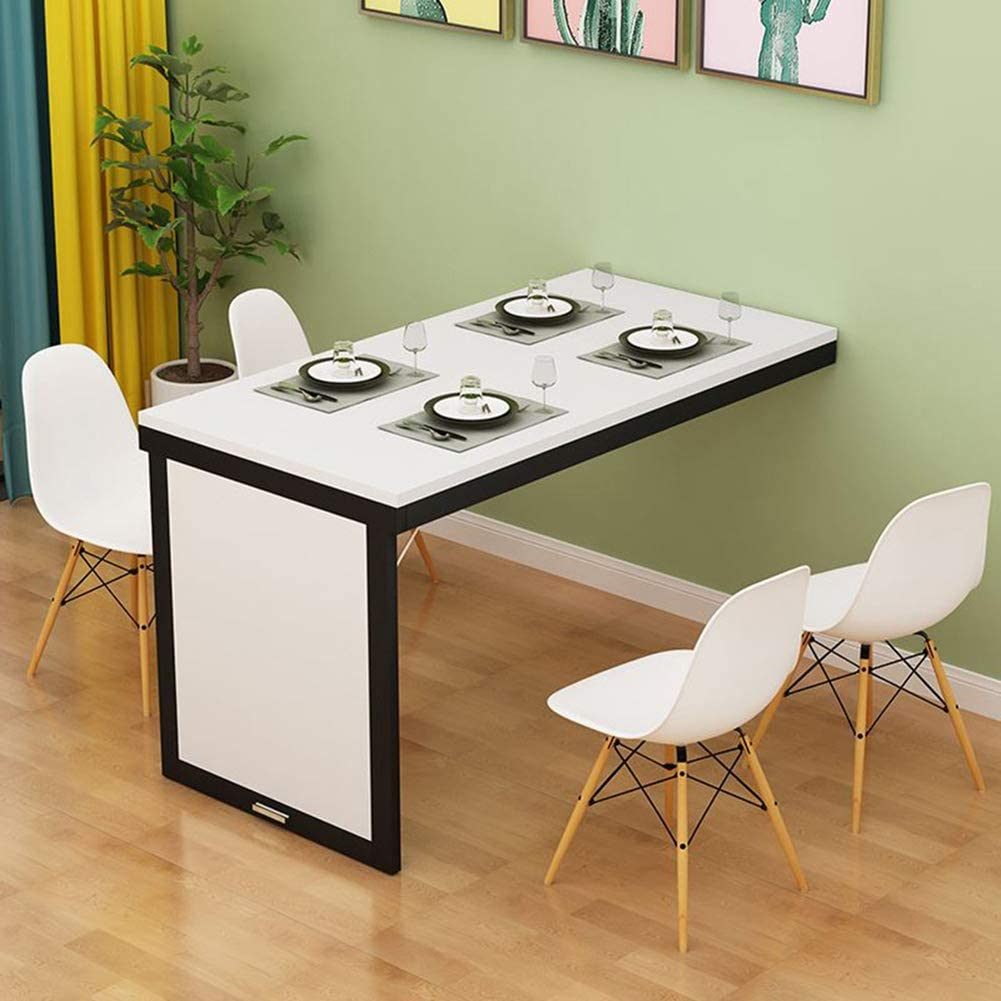 solo Folding Table, Wall Folding Table for the Kitchen, Invisible Wall  Table, Bar Table, Simple and Stylish, 9 Colours, 9 x 9 cm