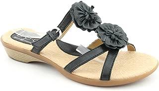 Best boc black flower sandals Reviews