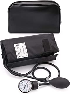 Aneroid Sphygmomanometer Blood Pressure Gauge - LotFancy Manual Blood Pressure Cuff with Zipper Case, FDA Approved, 10-16 Inches