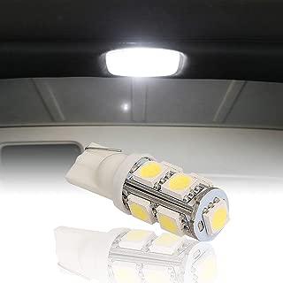Hooke Road Bright White Interior LED Dome Light Bulb Upper Reading Light for 1997-2018 Jeep Wrangler JK TJ(Package Includes 1 Light)