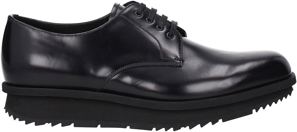 Prada, scarpe  per uomo, in pelle,suola in gomma 2EE092_B4L_F0002