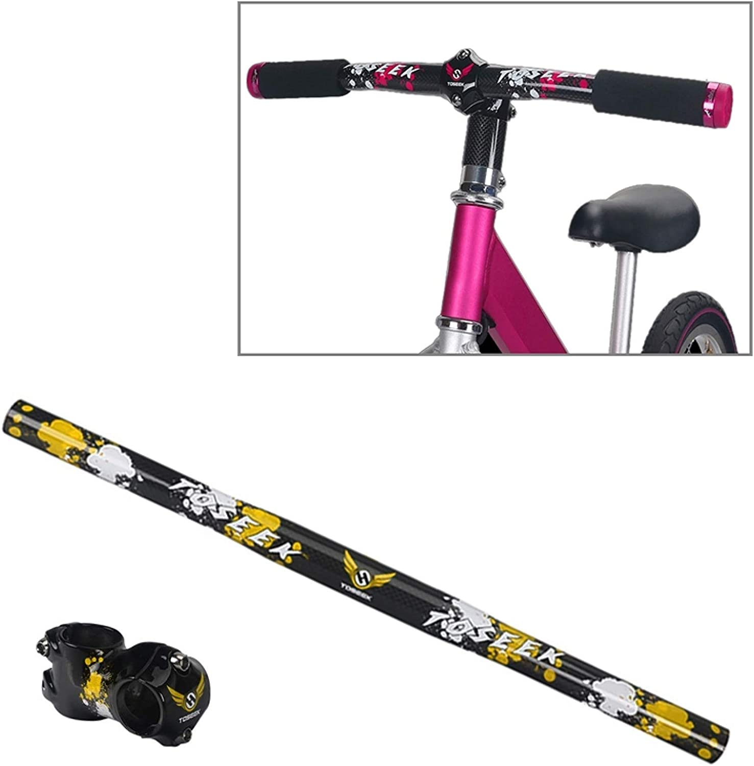 Jiangym Sports Accessories Limited Special Price TOSEEK Carbon Max 80% OFF Fiber Balance Children