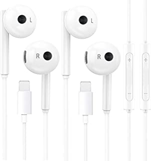 artmu Headphones,Wired Earphones with Microphone and Volume Control,Compatible with iPhone 12/11 Pro Max/Xs Max/XR/X/7/8 P...