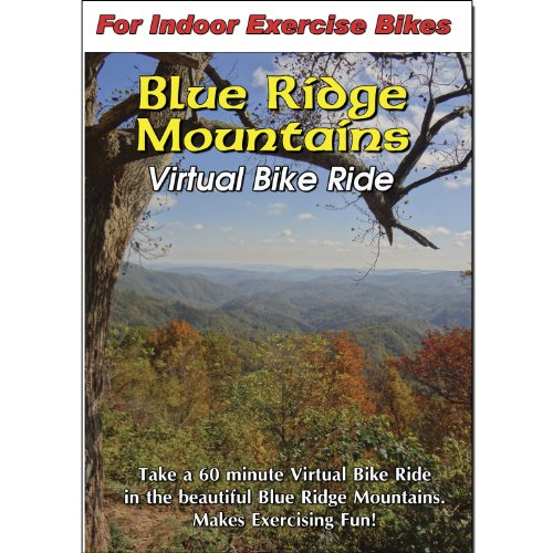 Blue Ridge Mountains Virtual Bike Ride Scenery DVD