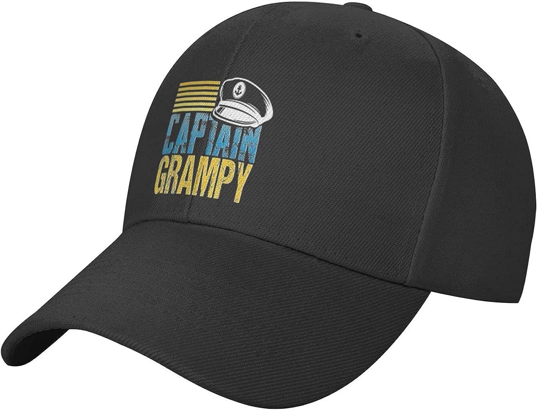 Allrey Funny Captain Hat Cool Baseball Cap Adjustable, Unisex Golf Hat Dad Hat Trucker Hatfor Men Women