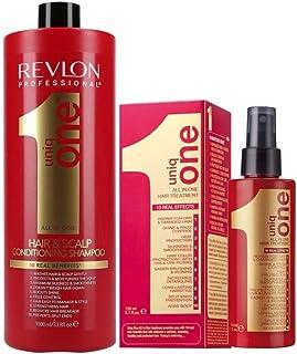 Pack Revlon Uniq One Champu 1000ml + Uniq One Tratamiento 150ml