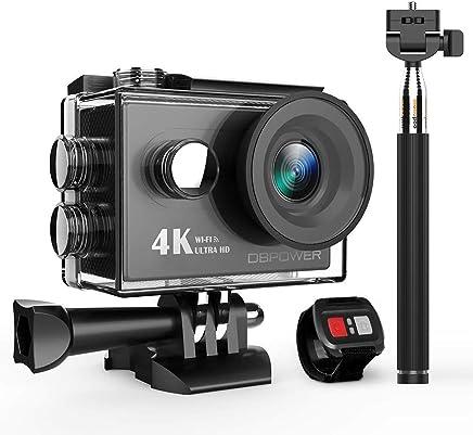 DBPOWER 4K Action Camera 12MP Ultra HD Waterproof Sports...